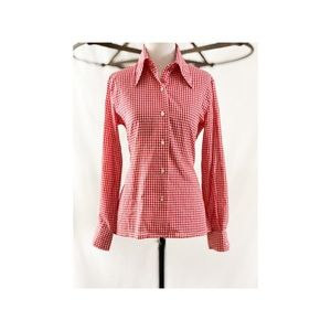 1970's Gingham Button Down by The Pond
